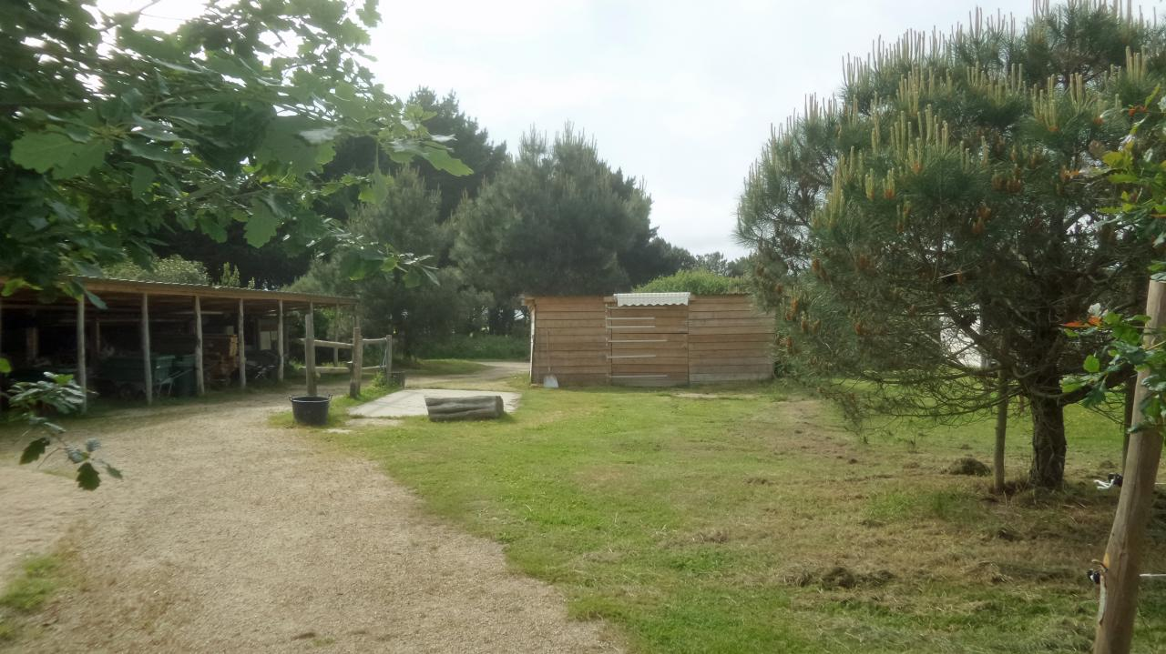 photo 2 aménagements chevaux au siège à Kerouzine
